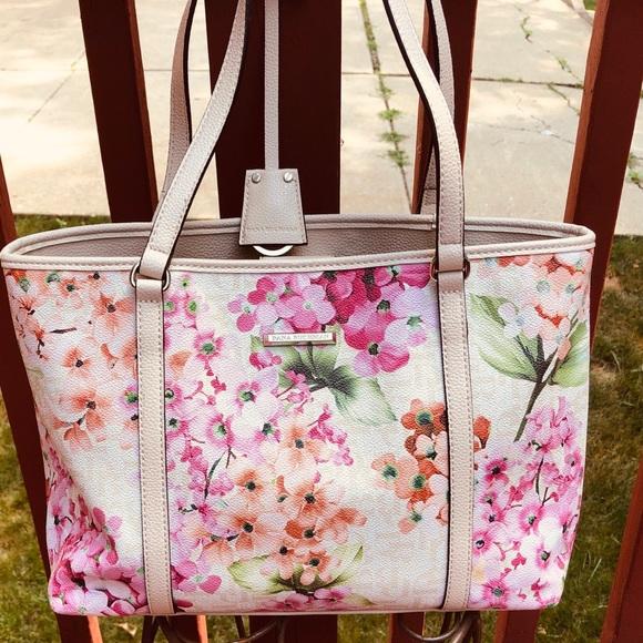 Dana Buchman Handbags - Dana Buchman spring floral bag purse tote